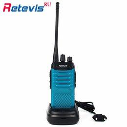 Wholesale 2pcs Retevis RT7 Walkie Talkie Throat MIC Covert Acoustic Tube Earpiece CH UHF Two Way Radio FM Radio VOX Scan Blue RUShip
