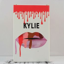 Wholesale HOT explosion models Kylie lip kit Limited spot color matte lip gloss non stick Cup Glamorous Shiny seductive