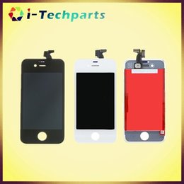 Wholesale Best Quality For iPhone S LCD Display Assembly For iPhone LCD Screen and Digitizer Assembly with Frame White Black