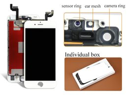 Wholesale 2016 hot sell D Touch Alibaba china For iPhone S LCD Display with Touch Digitizer Assembly Replacement with camera ring freeshipping