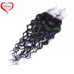 Brazilian Human Hair Natural Wave Lace Closure Brazilian Hair Closure Peruvian Malaysian Indian Cambodian Lace Top Closure