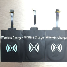 Wholesale Qi Wireless Charger Receiver qi Charging Module Adapter for Android Samsung Galaxy s5 s6 Iphone s plus