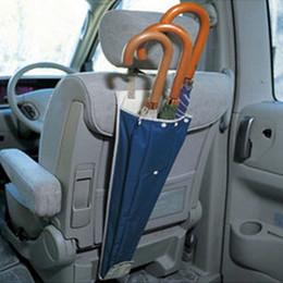 Wholesale Car Umbrella Foldable Holder Auto Automobiles Wet Rain Back Seat Umbrella Cover Sheath Storage Bags ND