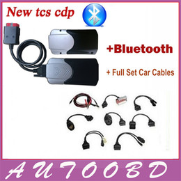 Wholesale Newly Black R2 TCS CDP PRO PLUS Bluetooth led light and keygen activator car cables For Auto OBD Cars Trucks Generic DHL FreeShipping