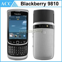 Wholesale Refurbished Original Blackberry Torch Unlocked Slider Mobile Phone inch Touch Screen QWERTY GB ROM MP Camera WIFI Free Post