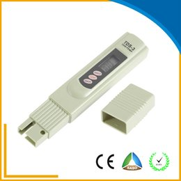 Wholesale PHEPUS portable LED Digital TDS Meter Hold Botton Meter Measuring Water High Quality Tester with x V Button Cell Battery