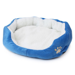 Wholesale New Arrivals Super Soft Animals Dog Cat Bed Pet House Mat Camas De Perros High Quality Cheap Dog Kennel Indoor Cama Perro