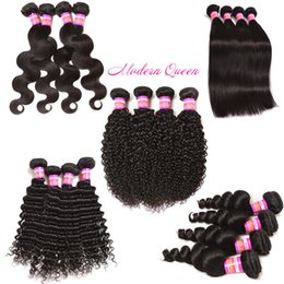 Raw Indian deep wave afro kinky curly weave human hair extensions Unprocessed Indian straight body loose