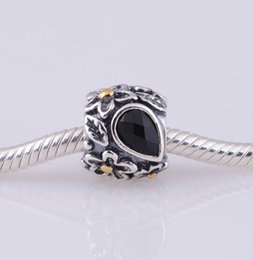 Fits Original Pandora Bracelets & Bangles FLOWER AND LEAF CHARM DIY Beads Real Solid 925 Sterling Silver Not Plated