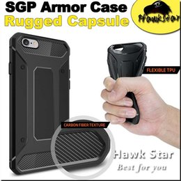 Wholesale For Iphone se S Plus Samsung S6 S7 EDGE NOTE Resilient Rugged Case Capsule Armor Ultimate protection soft TPU cover