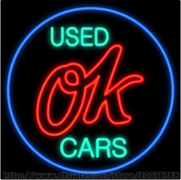 used car for sale signs