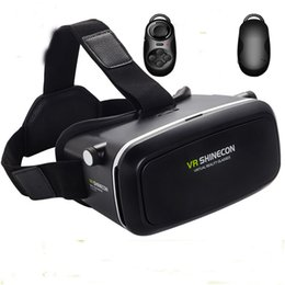 Wholesale Smart Phone Android And IOS Virtual Reality d Remote Control And Virtual Reality Headset D Virtual Reality Glasses New Listing