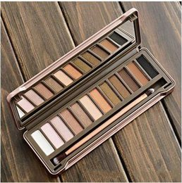 Famous Brand HOT NEW Makeup Nude 2 Eye Shadow 12 Colors Eyeshadow Platte 12x1.3g eyeshadow Cosmetics Free Shipping