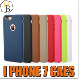 Wholesale For IPhone7 Soft TPU Caes Cover For Apple iPhone Plus Cases Color Jelly Silicone TPU Soft Shell Macarons Mobile Phone Set