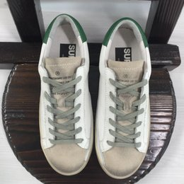 Wholesale Italy Brand Golden Goose Superstar Casual Shoes Antique Finish Men Women Low Cut Fashion GGDB Shoes ORIGINAL Scarpe Donna Uomo