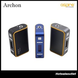 Wholesale Authentic Aspire Archon TC Mod with the CFBP Function Child Lock Upgradable Firmware Best Match with Original DHL Free