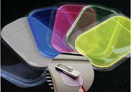 Wholesale Sticky Pad Anti Slip Mats Non Slip Car Dashboard Sticky Pad Mat Sillica Gel Magic ASM Car Sticky Stowing Tidying Sticky Pad