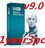 Wholesale 2016 ESET NOD32 Antivirus Year PC user key Best Quality