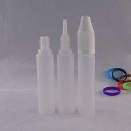 Wholesale Plastic Dropper Empty Unicorn Bottle 15ml E Liquid Bottles Pen Shape Long Child Proof Caps For E Cigarettes E Juice