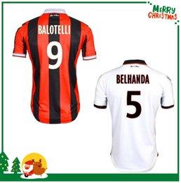 Wholesale Nice Jersey nice BELHANDA PLEA BALOTELLI R WALTER best quality shirt