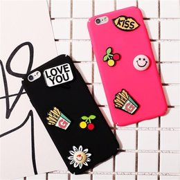 Elegant Stylish Cell Phone Cases Lovely Cartoon Cherry Smile Phone Covers for iphone 7 7 Plus 6S 6 Plus 44