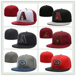Wholesale Men Women Arizona Baseball Fitted Hats For Man Outdoor Headwears Sports Sun Hat Football Basketball Hat Mix Order