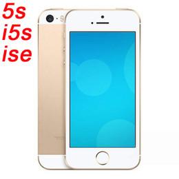 Wholesale GooPhone s i5 Clone iSE I5S pouces Android CellPhone double Mo de base RAM MB ROM WIFI G GSM Unlocked bon marché mobile téléphones intelligents