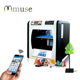 Touch Screen APP WIFI Smart Mini FDM 3D Printer Machine, Fast Prototyping Model 3D Printing Machine