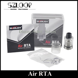 Wholesale Original SMOKJOY Air RTA ml Top Refilling Rebuidable Tank Atomizer Smallest RTA Ever with Delrin Drip Tip