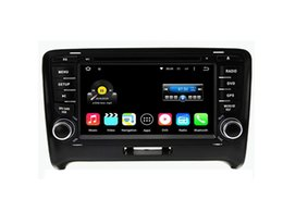 Wholesale 7 Quad Core Android Car DVD Player For Audi TT MK2 With Stereo Radio GPS Map Wifi BT