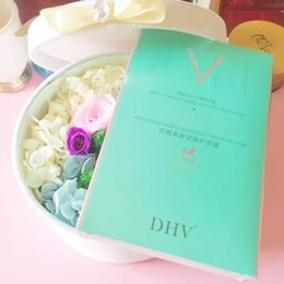 Wholesale Authentic DHV mask anthocyanins multi effect maintenance mask silk mask hydrating whitening and moisturizing antioxidantWater embellish is b