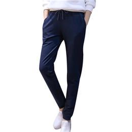 Spring Plus size Women Pants Casual Full Length Pencil Pants Elastic Waist Skinny Harem Pants Sport Trousers Black Gray Leggings