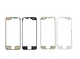for iPhone 5 5C 5S Front Middle Frame Bezel Housing W 3M Adhesive Heat Glue Black White (102IP5GAM10)