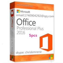 Wholesale 5pcs Microsoft Office Pro Plus fpp bit Licence Key Phone activate Download Link edition