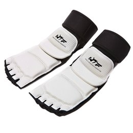 Wholesale Taekwondo Foot Protector Fighting Foot Guard Kickboxing Boot WTF Approved Ankle Brace Protection Support