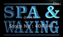 Wholesale LB382 TM Spa and Waxing Beauty Salon Neon Light Sign Advertising