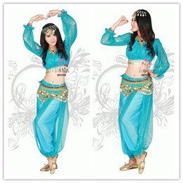 Wholesale sexy princess jasmine costume adults princess jasmine halloween costumes for women aladdin cosplay outfit belly dancer costume