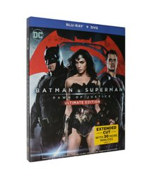Wholesale Batman v Superman Dawn of Justice Movie Disc Set US UK Blu ray Version Boxset New
