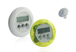 Wholesale Free Shipping by DHL ! ! Colorful Digital Lcd Timer Stopwatch Kitchen Cooking Countdown Cloc