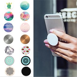 Wholesale Universal Popsocket Phone Stents Finger Grip Extract Stand Smart phones Tablets Stand Bracket Mobile Phone Holder For Apple iPhone Samsung