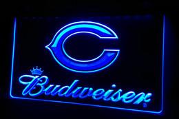 LS430-b Budweiser Bar Neon Light Sign