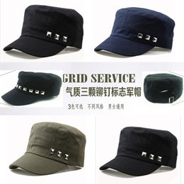 Fashion Men's Women's Baseball Snapbacks hat Hip Hop Caps outdoor rivet flat hat wholesale adult hat