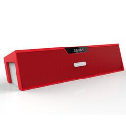 Wholesale Original Sardine SDY019 Portable Bluetooth Speaker W Stereo Wireless Sound Bar Box HIFI Music Player FM Radio USB