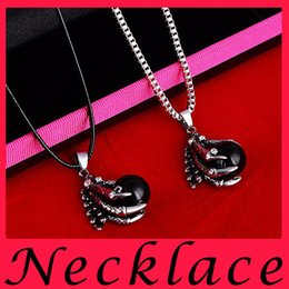 Wholesale fashion Talon Men Retro pearl Necklace Pendant personality silve jewellery stores statement necklaces pendants leather chokers black opal
