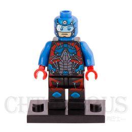 Wholesale The Atom Minifigures DC Super Heroes Justice League Assemble Model Building Blocks Kids Education Toys Gifts