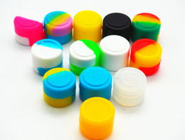 Wholesale Wax Container Silicone Box ml Non Stick Oil Slicks Silicone Customized Bho Oil Container Small Silicone Round Container ml Wax Container