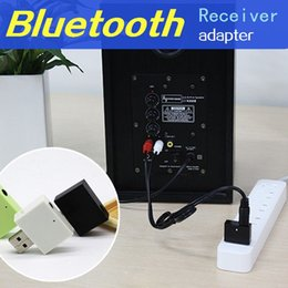 Wholesale New HiFi Bluetooth Receiver Adapter Stereo Music Wireless Speakers Audio Receptor usb Car mm RCA aux Jack For phone Subwoofer