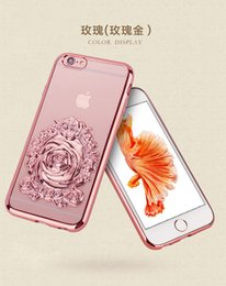 Wholesale New Cosmetic Magic Mirror Electroplate Transparent Phone Back Soft TPU Full Cover Case For iPhone SE S S Plus Free DHL MOQ