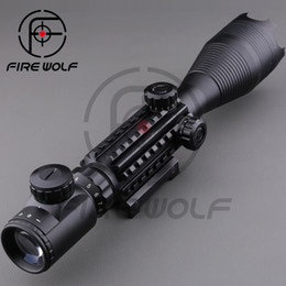 Wholesale 2016 Rifle scope x50EG Red Green Dot Reflex Sight r gun sight riflescopes LLL night vision scopes for hunting