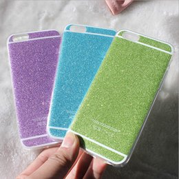 For iphone 6s case ultrathin Bling Shining Glitter cases sparkle shimmer Soft TPU Cover For iphone 4s 5 5s 6 6s plus best